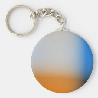 Light blur blue and brown design keychains