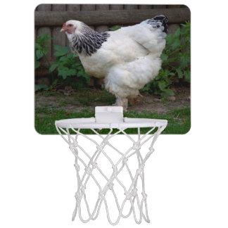 Light Brahma Hen Mini Basketball Backboard