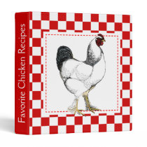Light Brahma Rooster - Favorite Chicken Recipes Binder