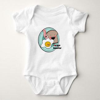light breakfast baby t-shirt