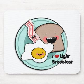 light breakfast mousepad