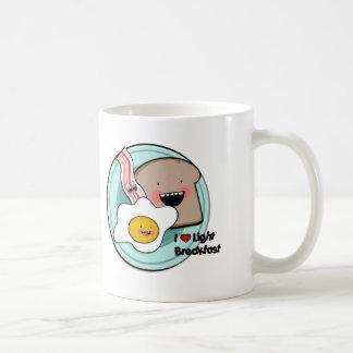 light breakfast mug