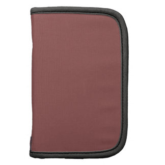 Light Brick Red Solid Color Planners