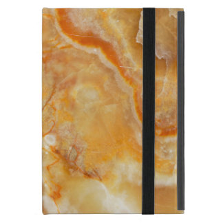 Light Brown And Beige Marble Stone Case For iPad Mini