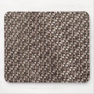 Light brown and dark brown fur mouse pad