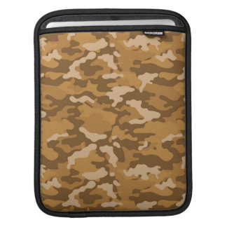 Light Brown Army Military Camo Camouflage Pattern Sleeve For iPads
