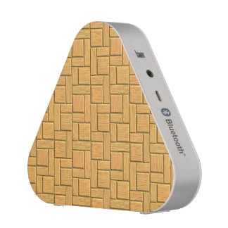 Light Brown Block Design Bluetooth Speaker