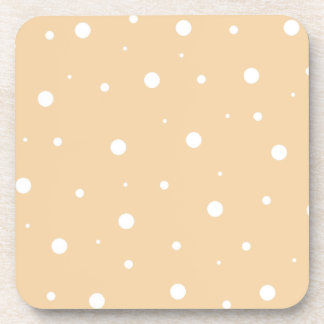 Light Brown Bubbles Coaster