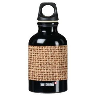 Light Brown Burlap Sack Background SIGG Traveler 0.3L Water Bottle