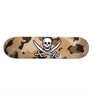 Light Brown Camo; Jolly Roger Pirate Skate Boards