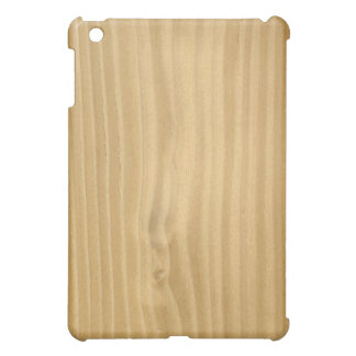 Light Brown Faux Plywood texture Case For The iPad Mini