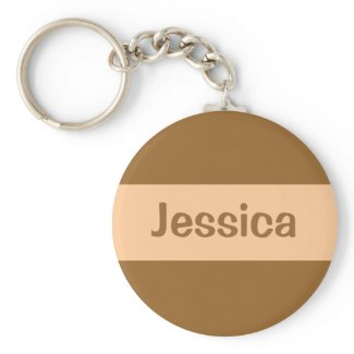 Light brown keychain