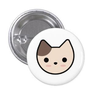 Light Brown Kitten Button