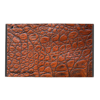 Light Brown Leather iPad Case