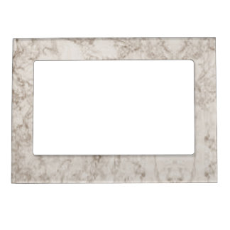 Light Brown Marble Look Magnetic Picture Frame