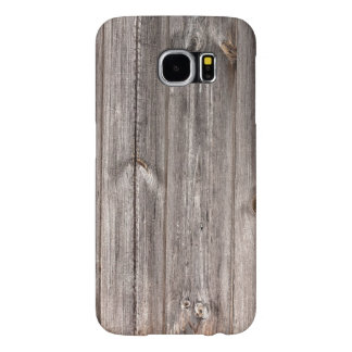 Light brown Rustic Faux Wood Texture Samsung Galaxy S6 Case