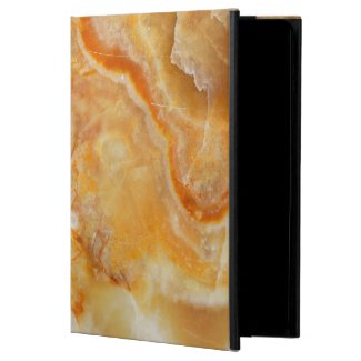 Light Brown Tones Marble Stone iPad Air Cover