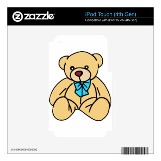 Light Brown Traditional Teddy Bear iPod Touch 4G Skins