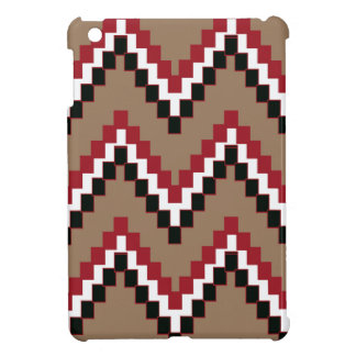 Light Brown Western Block Chevron iPad Mini Case