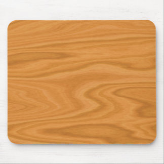 Light brown wood mouse pad