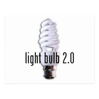 Light Bulb 2.0 Postcard
