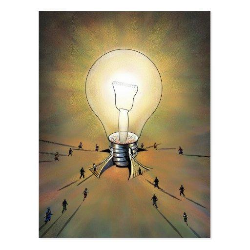 Light Bulb Arena Postcard
