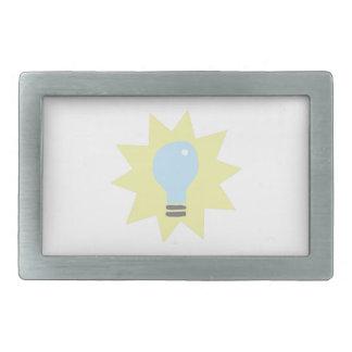 Light Bulb Belt Buckle
