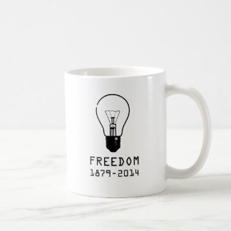 Light Bulb (BLACK LOGO) Coffee Mug