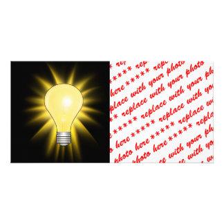 Light Bulb - Bright Idea Card