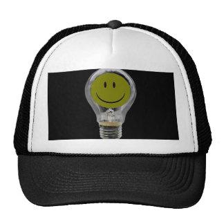 LIGHT BULB BRIGHT IDEA TRUCKER HAT