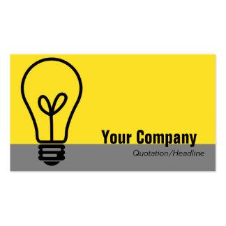 Light Bulb Business Card