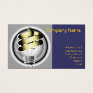 Light Bulb Business Card & 2012 Calender