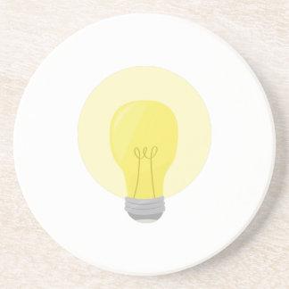 Light Bulb Beverage Coaster