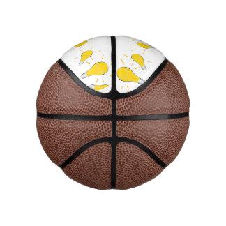 Light Bulb creative idea Basketball