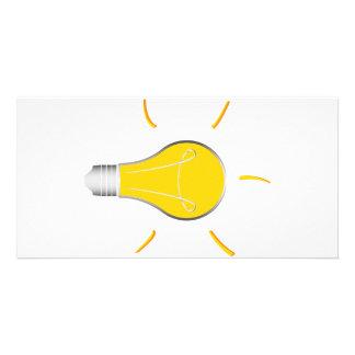 Light Bulb creative idea Card