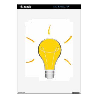 Light Bulb creative idea Decal For iPad 2