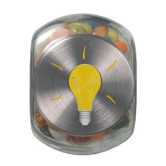 Light Bulb creative idea Glass Jar
