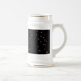 Light-bulb-decorations1976 BLACK YELLOW WHITE TWIN Coffee Mug
