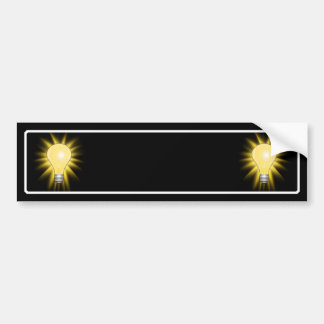 Light Bulb - Dim The Lights Bumper Stickers