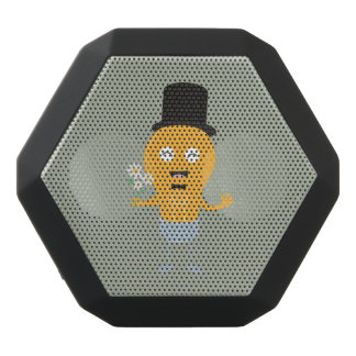 light bulb groom with flowers Z4686 Black Bluetooth Speaker