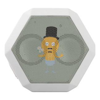 light bulb groom with flowers Z4686 White Bluetooth Speaker