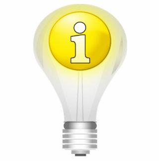 Light Bulb Idea Photo Cut Out