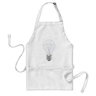 Light bulb illustration aprons