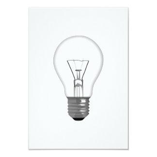 "Light Bulb 3.5"" X 5"" Invitation Card"