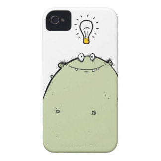 Light Bulb Moment Green Zombie iPhone Case Sleeve