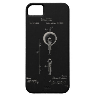 Light Bulb Patent iPhone Case