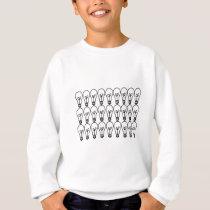 Light bulb Pattern Sweatshirt