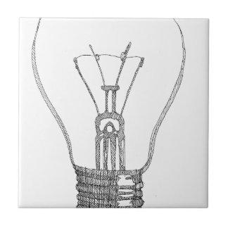 Light bulb series tile