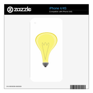light bulb skins for iPhone 4S