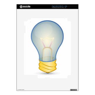 Light bulb skin for the iPad 2